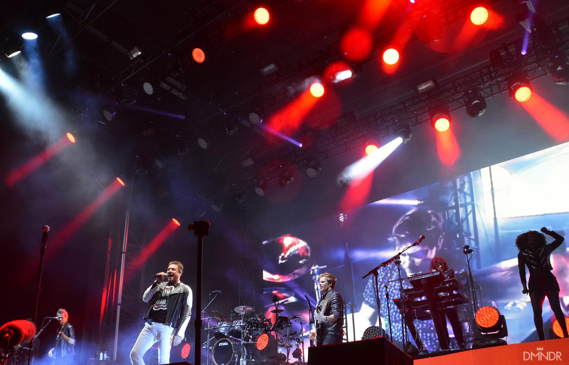 Duran Duran stage