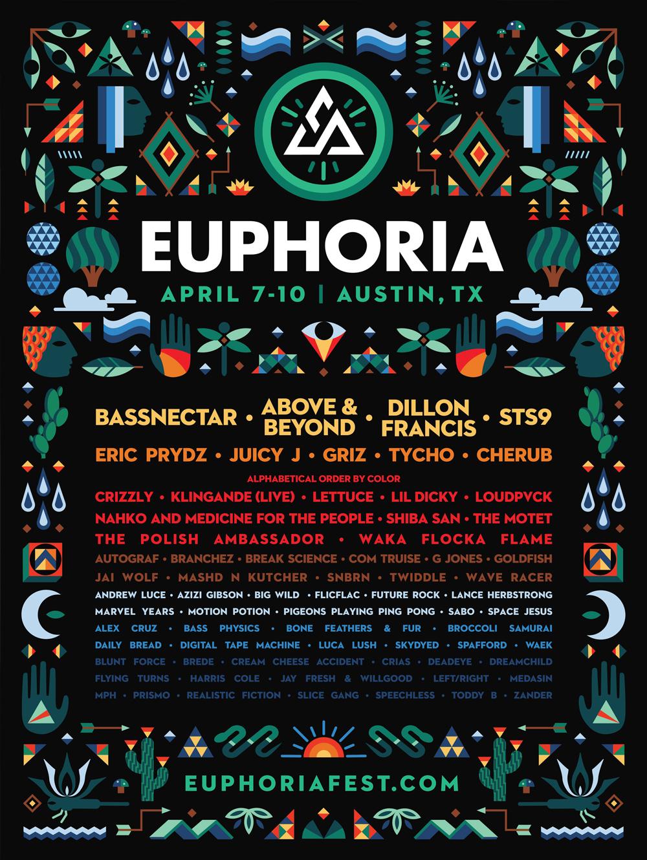 EuphoriaFestLineup
