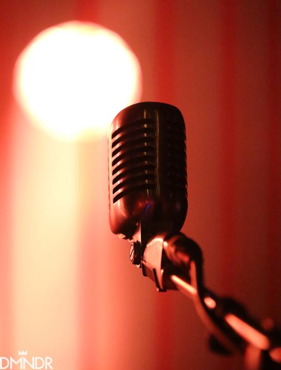 Jimbo's Shure 55 stage mic