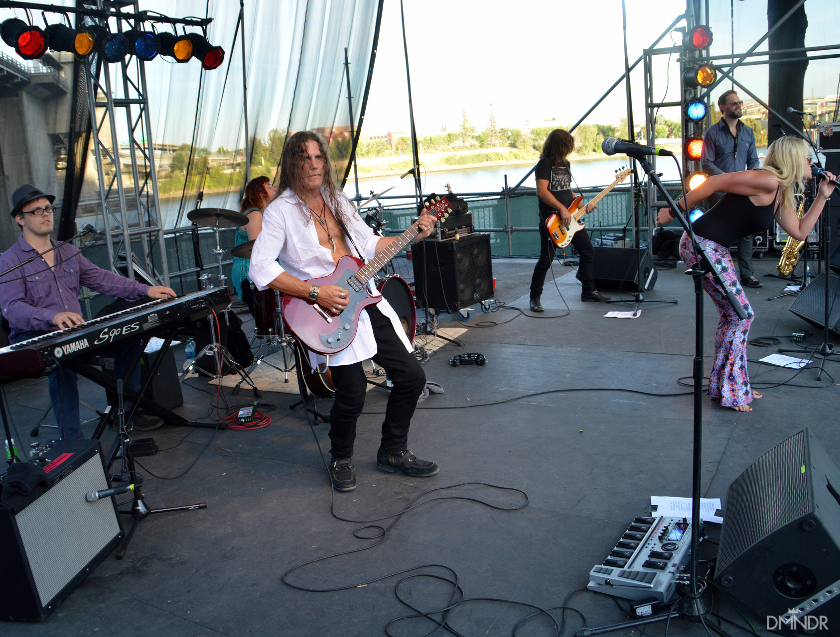 Michelle DeCourcy and the Rocktarts