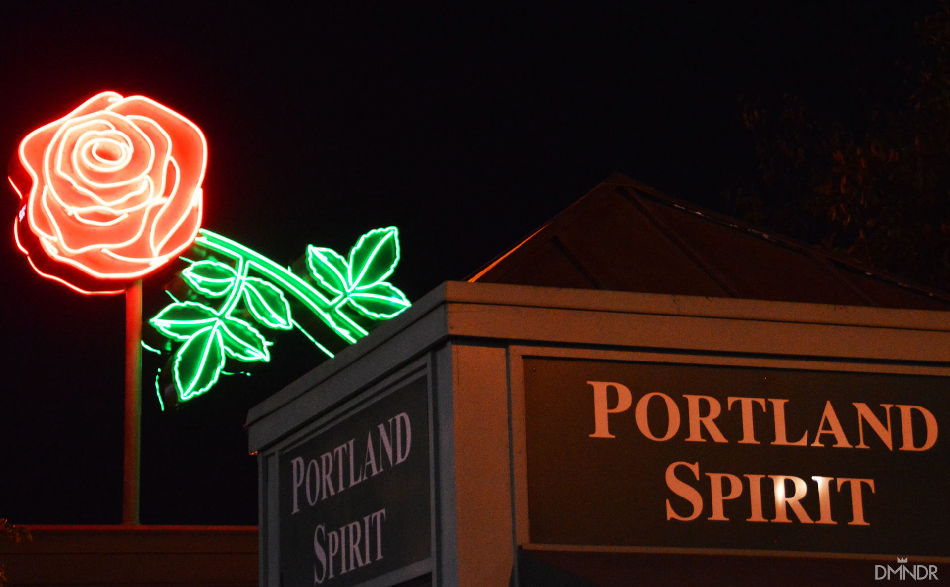 The Portland Rose and Spirit