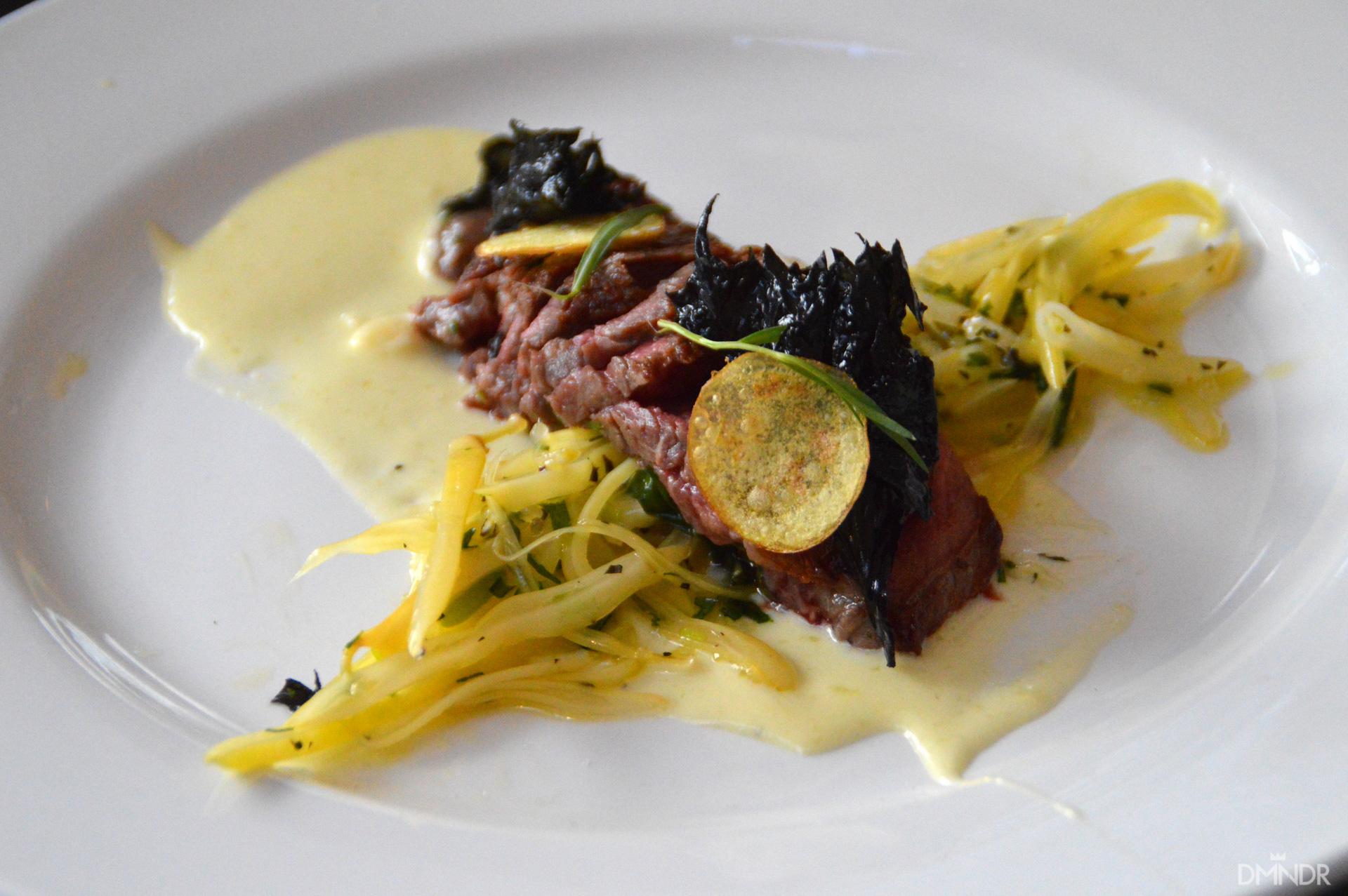 The Winnning Dish (Water Buffalo Steak, other secret ingredients were Elk and Coho Salmon)
