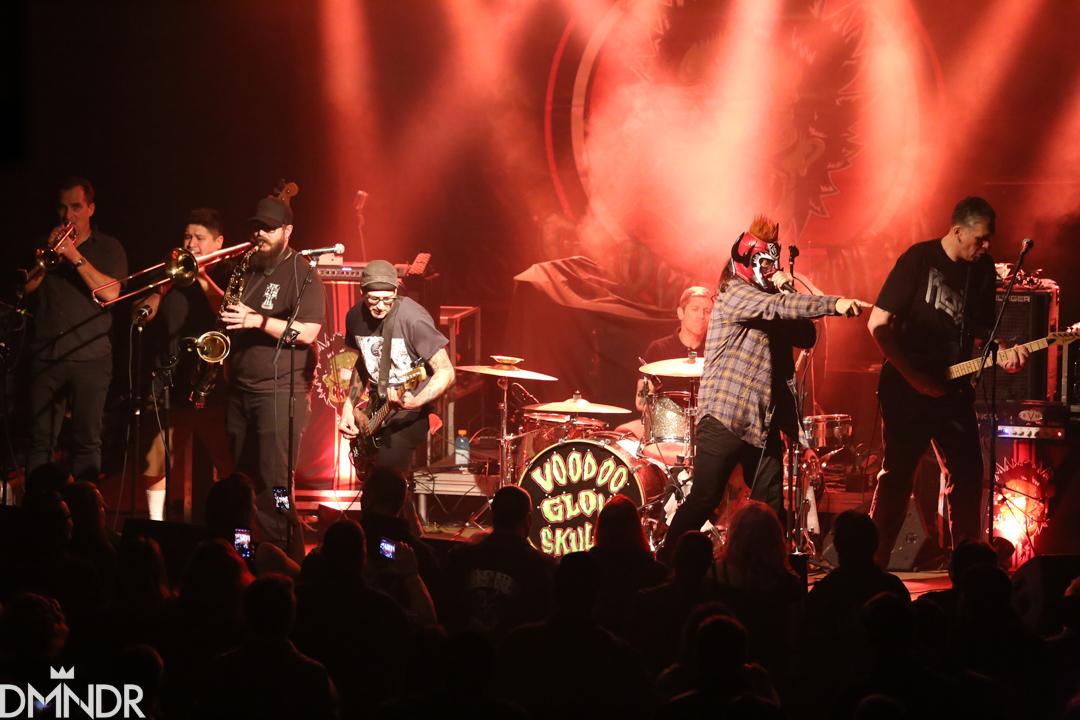 Voodoo Glow Skulls opening for Reverand Horton Heat